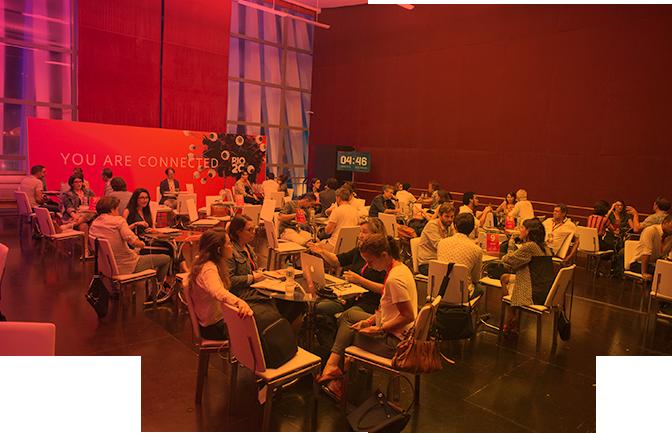Pitching de negócios de audiovisual no Rio2C.