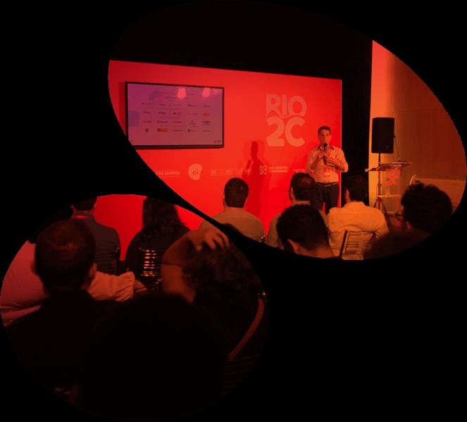 Rodadas de mentorias e Pitching de Startups no Rio2C